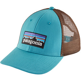 Patagonia P-6 Logo LoPro Päähine , ruskea/turkoosi